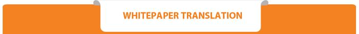 ICO Whitepaper Translation Services Singapore